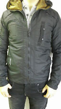 G STAR RAW Recolite Quilted HDD hooded jacket, black, NEW with tags