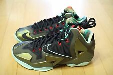 Nike Lebron XI Parachute Gold King's Pride Deadstock DS
