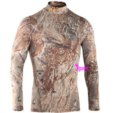 Under Armour Camo EVO Scent Control Cold Gear Mock Mens NWT $65 Hunt Many Colors