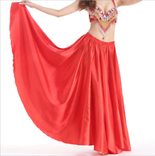 Belly Dance Costume Satin Flamenco Skirt 14 Colours