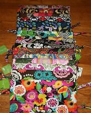 NWT Vera Bradley DITTY BAG Toiletry Travel Large Cosmetic Case Tote lunch gym