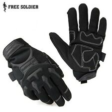Free Soldier Army Tactical Motorcycle Gloves Full Finger Working Athletic Gloves