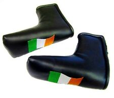 "IRELAND PUTTER COVER BLACK or NAVY Please Choose ""NEW"" IRISH FLAG EMBROIDERED"