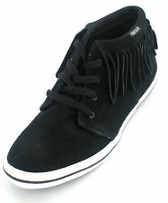 Rip curl Ladies Black suede leather hi top trainers  TACY MID F