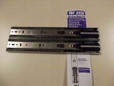Soft Close Full Extension Side Mount Drawer Slides Sold as a Pair KV 8450