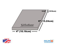 Sorbothane Acoustic and Vibration Thin Film (4 x 6in) - 1 Sheet