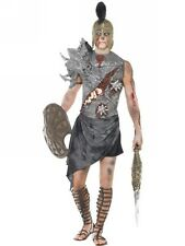 Brand New Mens Fever Zombie Gladiator Costume Fancy Dress Adult Spartacus Fun