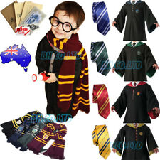 Harry Potter Gryffindor/Hufflepuff/Ravenclaw Cloak Robe/wand/Scarf Halloween