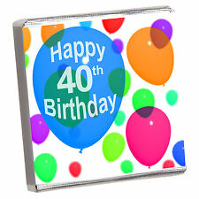 BIRTHDAY & ALL - 50 BEST PERSONALISED CHOCOLATE PARTY FAVOURS- WIDE CHOICE////