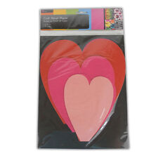 CRAFT TAGS OR CRAFT HEARTS - ART CARD MAKING NEW HOME ACTIVITY FUN DECORATIONS