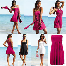UK047 Ladies Beach Summer Cover Up Caftan Dress Skirt Sarong Bikini (6-14)