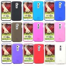 Matte TPU Silicone Gel Case Cover For LG G2 D802