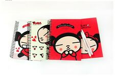 Kawaii Cute Pucca Spring Notebook Note Diary Journal Book