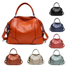 Women's Real leather Shoulder Bag Handbag Tote Briefcase  Messenger Bags gift CA