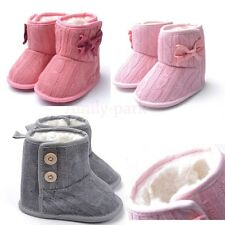 0-18 months Lovely Toddler Booties Girls Soft Sole Baby Boots Crib Infant Shoes