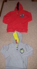 ARIZONA Boys hooded cotton long-sleeve 3 button front sweatshirt MSRP $22 NWT