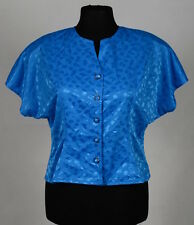 FASHION EXTRA Womens plus size blue blouse size 18 USED
