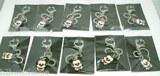 Minnie and Mickey Mouse Key Rings, Bag Charms ~ Job Lots ~ UK Wholesale Seller