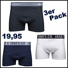 Jack & Jones Trunks Boxershorts Boxer Short Unterhose 3er Pack S M L XL XXL 13