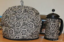 Downton Abbey Tea Cosy and Cafetiere Cosies - Handmade - Downton Abbey Fabric