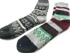 Mens Warm Winter wool high socks mens Xmas thick snow socks mens Xmas gift socks
