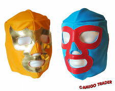 CHILDREN MEXICAN WRESTLING MASK Maschera Maske Masque de Catch Libre Kid  Nacho