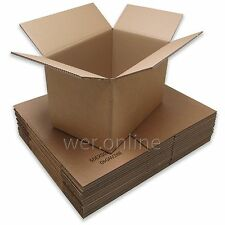 """18"""" x 12"""" x 12"""" Strong Book Box Packing Postal Mail Double Wall Cardboard Boxes"""