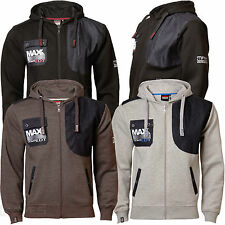 Mens Hoodie Max Edition MSW14 NEW Hooded Fleece Full Zip Sweatshirt Top Jacket
