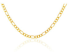 Gold Figaro Link Chain Spring Ring Clasp 1.23 mm Made in USA