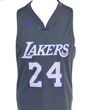 Los Angeles Lakers Kobe Bryant #24 Gray Limited Edition Swingman Jersey
