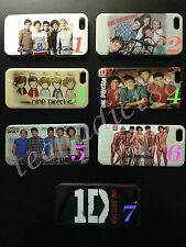 """One Direction Back Cover Clear Case for Apple iPhone 5/5S """"Great Gift Ideas"""