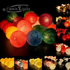 Aladin 20 Cotton Balls String Lights Fairy,Home/Patio Decoration, Weddings US