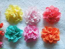 50PCS perforated ribbon roses butterfly wedding ceremony / decals / crafts craft