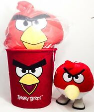 Angry birds red trash angry birds red pillow angry birds walking doll