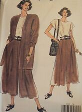VTG VOGUE 8001 Misses/MP Jacket & Jumpsuit PATTERN 8-10-12/14-16-18 UC