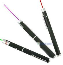 1/3 Color Blue Red Green 405nm 5mW Laser Pointer Pen KJ