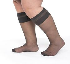 "45: Knee Highs for swollen legs and wide feet. Calves to 23""/58cms. Truly huge!"