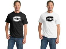 Montreal Canadiens 0741 Sports Hockey Vinyl T shirt Cotton Tee T-shirt