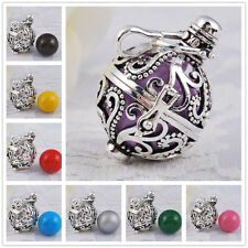 Silver Plated Harmony Ball Angel Sounds Mexican Bola Belly Pendant &Necklaces