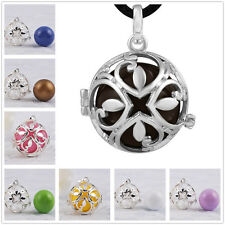 Mexican bola Harmony Ball Necklace Mum to be Sterling Silver Sounds pendants