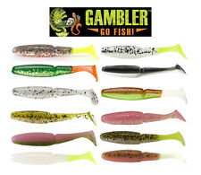 "GAMBLER TZ SWIMMER SWIMBAIT 3"" 12 PACK choose colors"