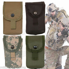 """Tactical Rugged Polyester 20 Round Pouch - MOLLE, Snap Closure, 5"""" x 3"""" x 2"""""""