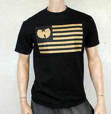 Wu-Tang Clan Flag T shirt black