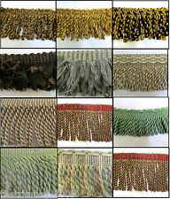 ****Premium Quality Bullion Fringe & Decorative Braid Furnishing Trimming ***