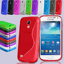 Wave S-Line TPU Silicone Gel Skin Case Cover For Samsung Galaxy S4 Mini i9190