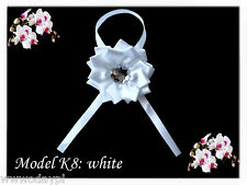 Flower Rose with solid safety pin Wedding Accessories for Guests snap clip on