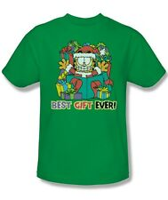 Garfield Comic Best Gift Ever ME Christmas Gifts Licensed Tee Shirt Adult S-3XL
