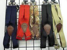 Carhartt Mens Utility Suspenders, Heavy Duty Suspenders, Clip on Suspenders. NWT