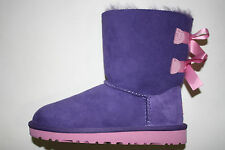 Ugg Classic KIDS BAILEY BOW PURPLE REIGN / LIPGLOSS (PRLG) 3280K sizes 13 to 4