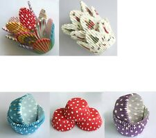 75 Mixed Petal/Christmas white/Blue/RED/Purple Muffin Cases Cupcake Paper Liners